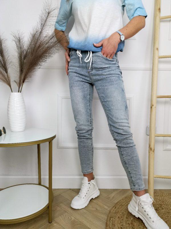 Spodnie Jeansy Gym Denim Blue