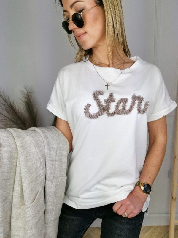 T-Shirt Star Ecru