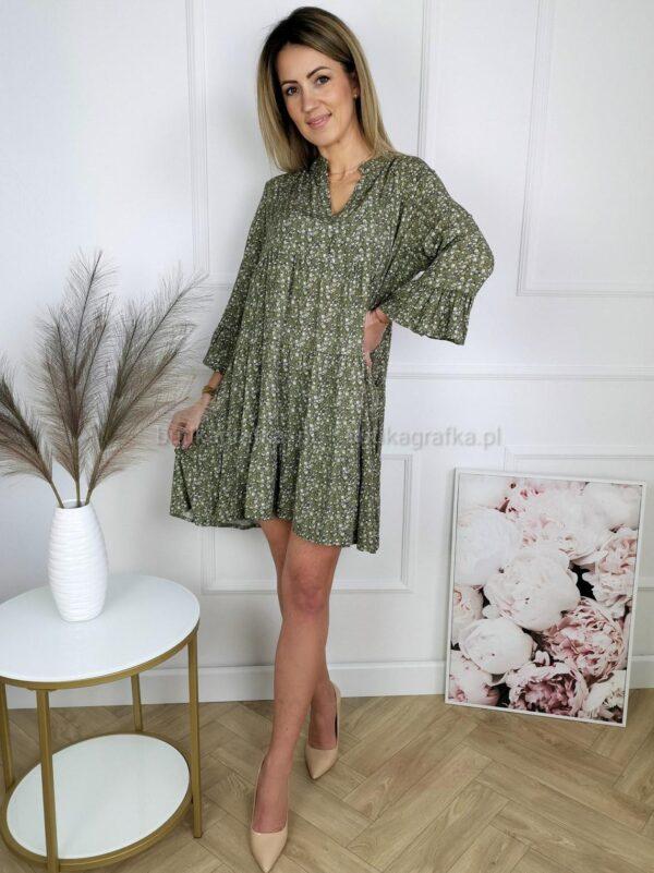 Sukienka Modest Khaki PSX 20210226 000331
