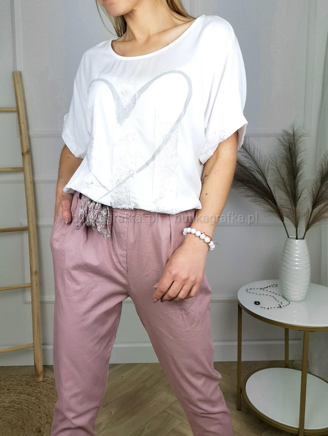 Bluzka Heart White