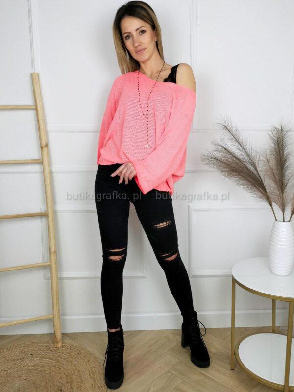 Sweter Fluo Neon