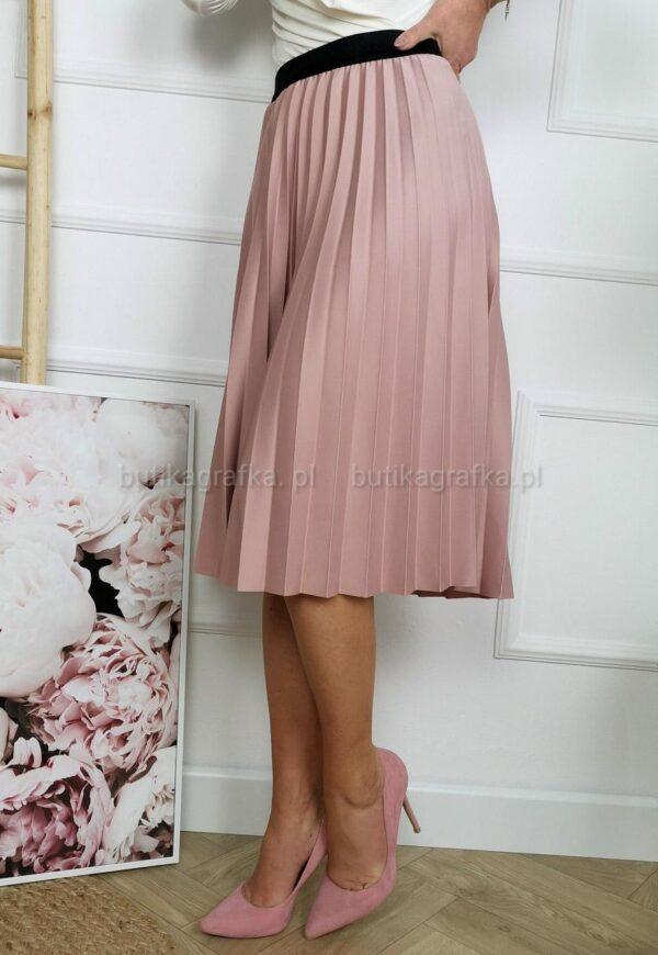 Spódnica Plisa Premium Rose