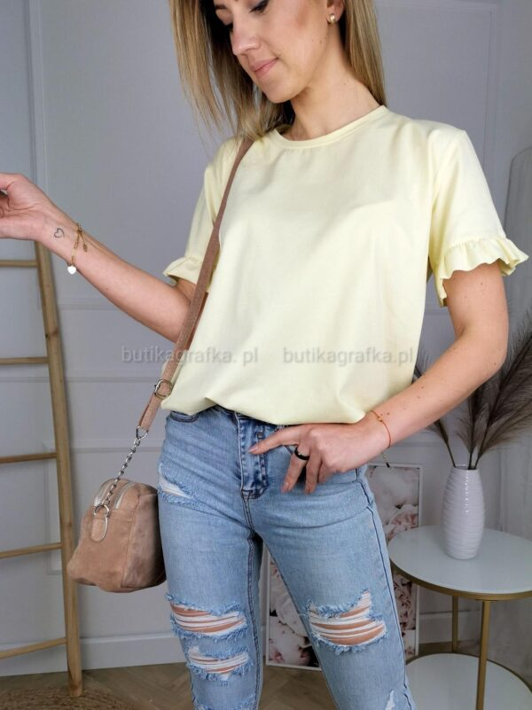 T-shirt Tutis Żółty PSX 20210326 000609