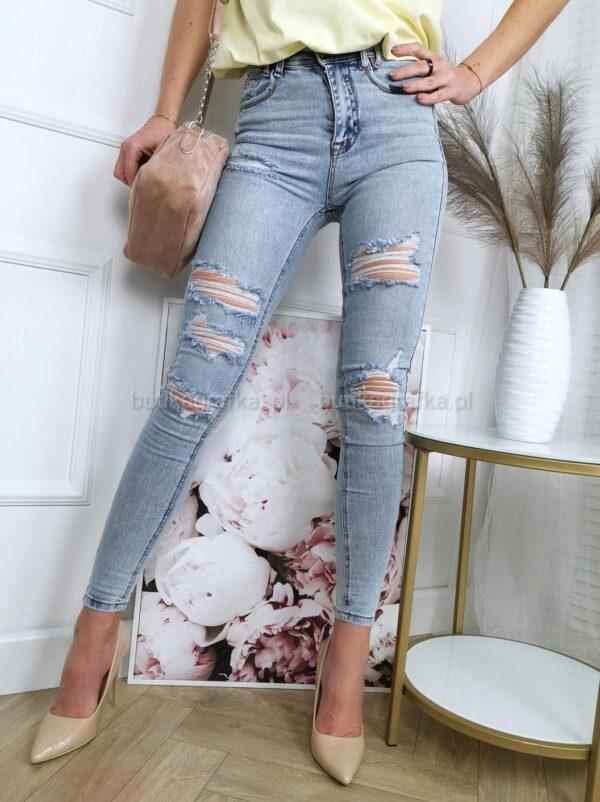 Spodnie Jeansy Denim Senso Blue
