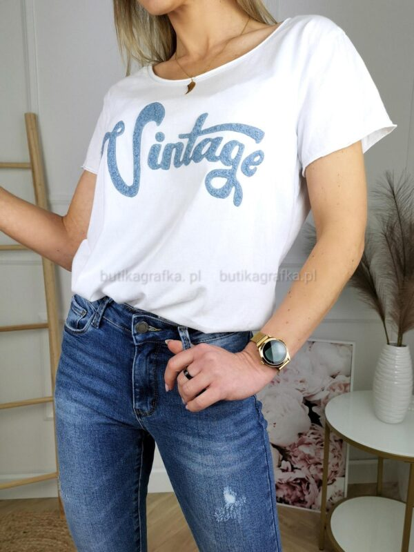 T-Shirt Vintage White