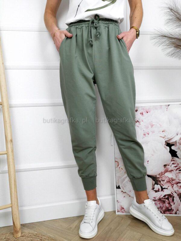 Spodnie Dresowe Khaki