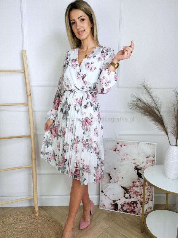 Sukienka Floral Dream White
