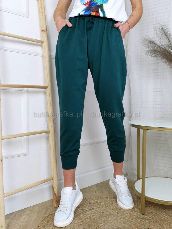 Spodnie Dresowe Dark Green