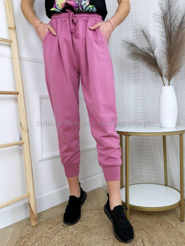 Spodnie Dresowe Amarant
