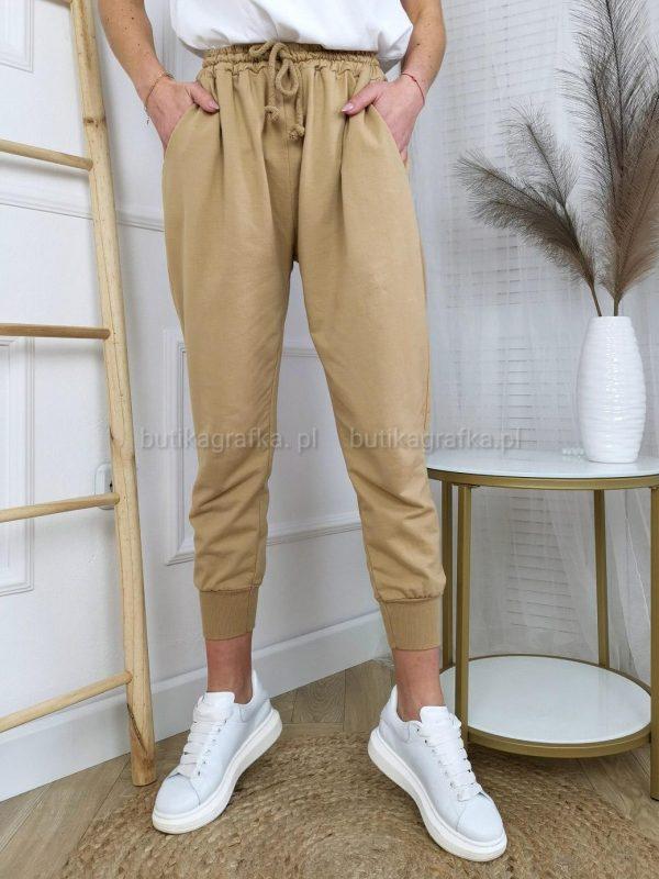 Spodnie Dresowe Beż