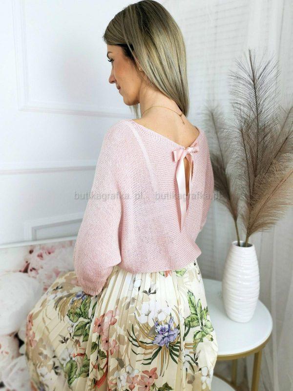 Sweter Sweet Puder Róż