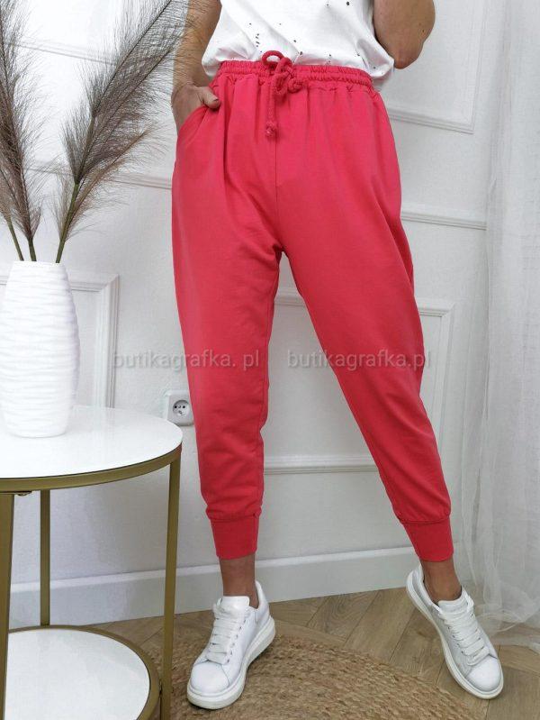 Spodnie Dresowe Malinowe PSX 20210507 004855