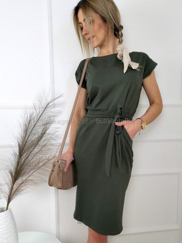 Sukienka Elena Khaki PSX 20210507 005102