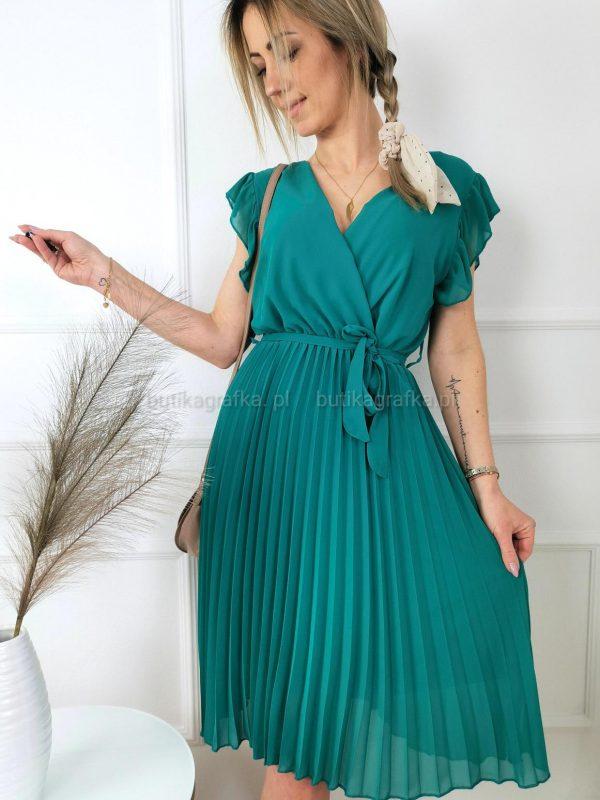 Sukienka Belisa Szmaragd PSX 20210507 005121