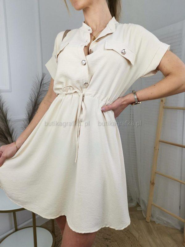 Sukienka Pettit Beż PSX 20210507 005313