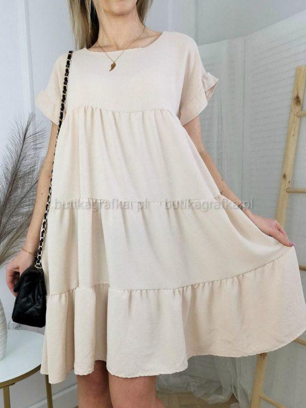 Sukienka Sarsa Beż PSX 20210507 005511