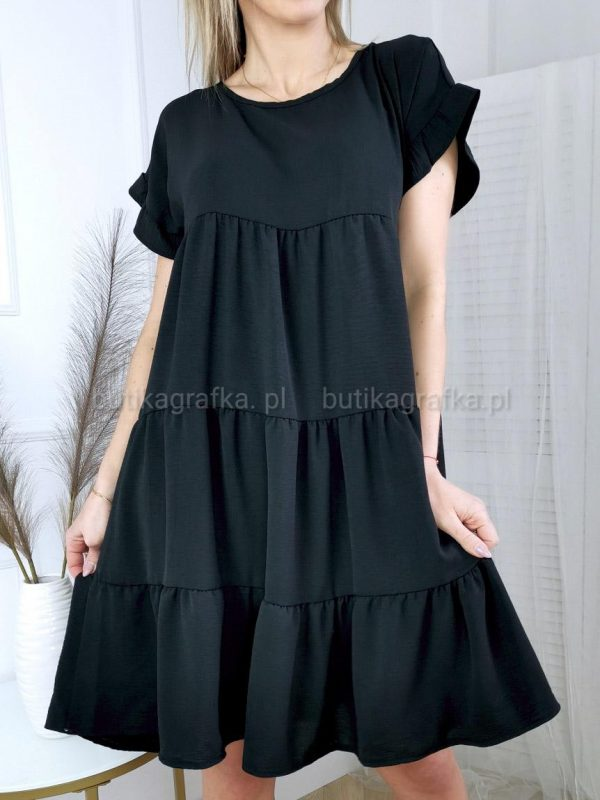 Sukienka Sarsa Czarna PSX 20210507 005533