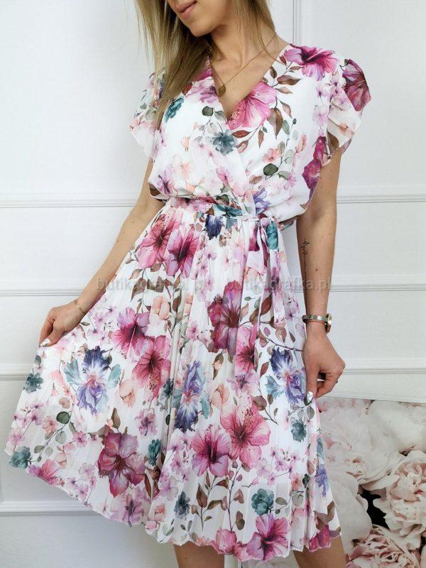 Sukienka Floral Dream Multicolor Short Sleeve PSX 20210514 011040