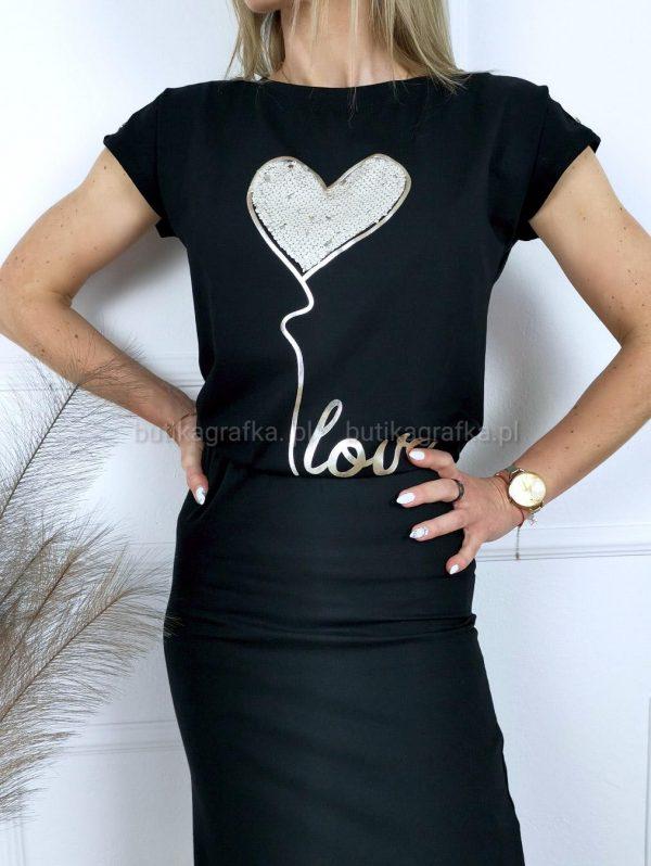 Bluzka Heart Cekin Black PSX 20210521 003419