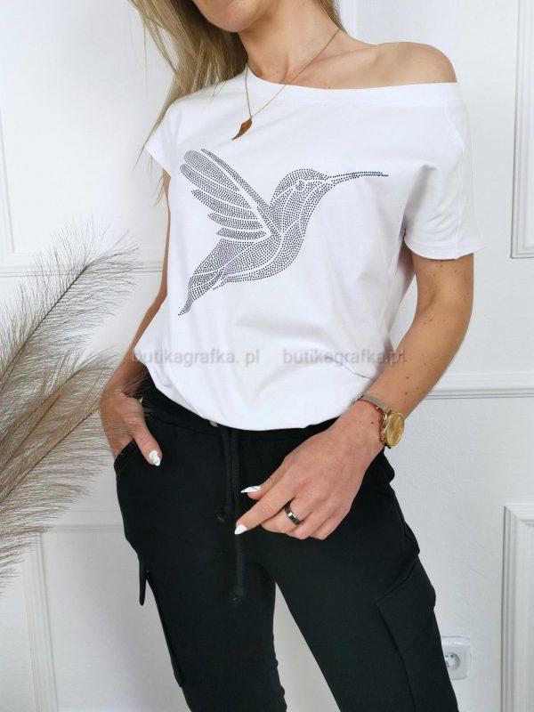T-shirt Koliber Biały PSX 20210521 003443