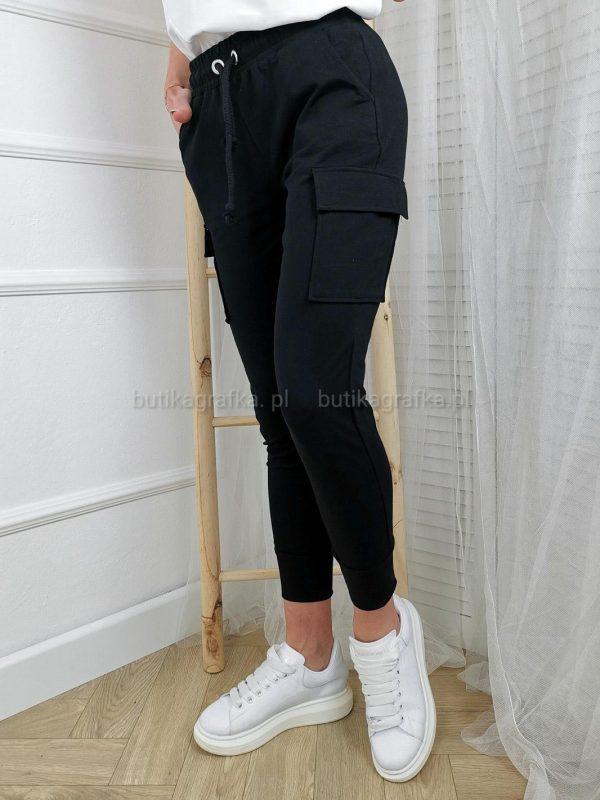 Spodnie Bojówki Dresowe Fedo Black PSX 20210521 003507
