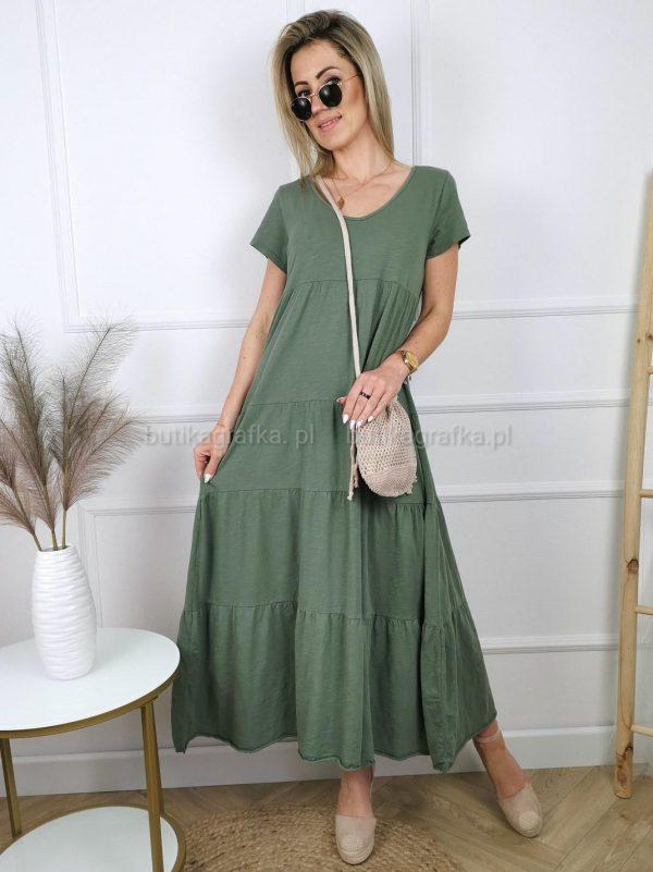 Sukienka Momo Maxi Khaki PSX 20210521 003858