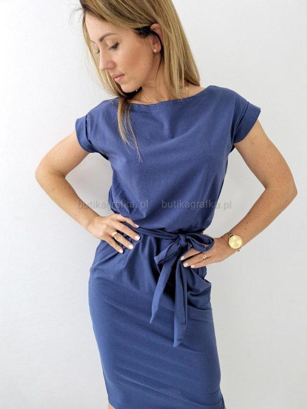 Sukienka Elena Navy Blue